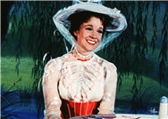 'Mary Poppins' Accident Made Julie Andrews Hurl a 'Stream of Colorful Expletives'