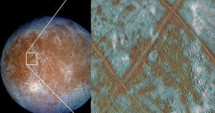 Alien life breakthrough as NASA spots 'persistent water' on Jupiter's moon Europa