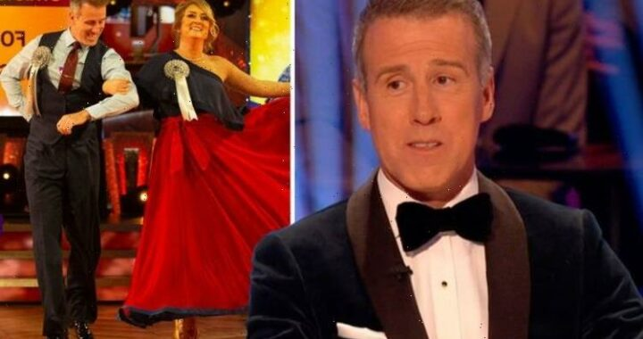 Anton Du Beke's dance partner Jacqui Smith thought email from Strictly bosses was 'fake'