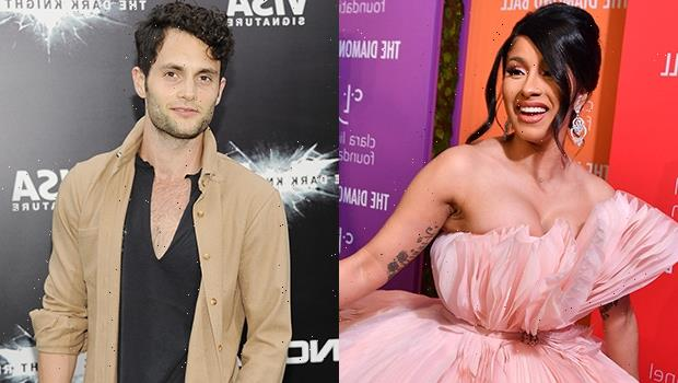 Cardi B & Penn Badgley Become The Internet's New Fave BFFs After They Rave Over Each Other