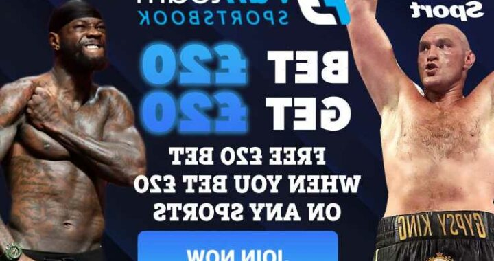 Get £20 free bet when you stake £20 on Tyson Fury vs Deontay Wilder with FanTeam betting special