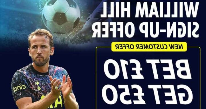 Get £50 in FREE bets when you sign up and place a £10 wager any football match with our William Hill special offer
