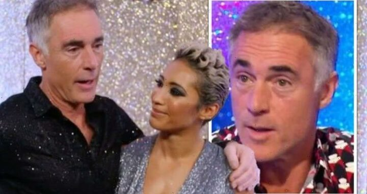Greg Wise and Karen Hauer dealt huge blow ahead of Strictly Come Dancing performance