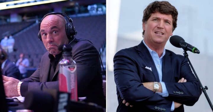 Joe Rogan Gushes Over Fox News' Tucker Carlson
