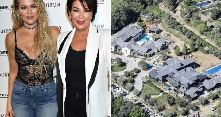 Khloe Kardashian & mom Kris Jenner add inground pools & hot tubs to their $37M side-by-side mansions