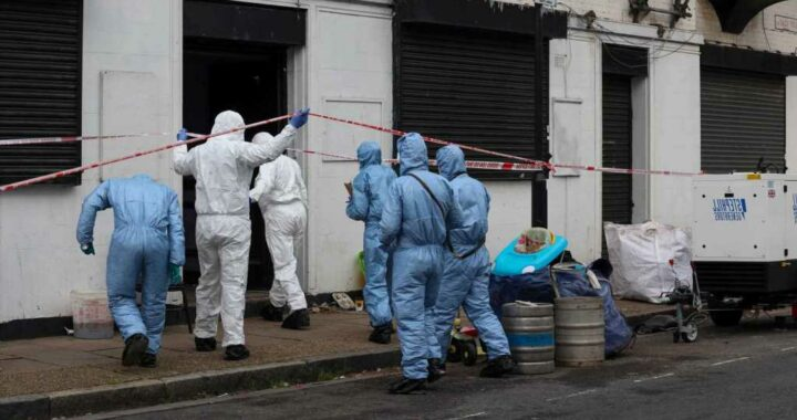 Mystery as 'badly decomposed' body found in derelict pub next door to a police station in East London