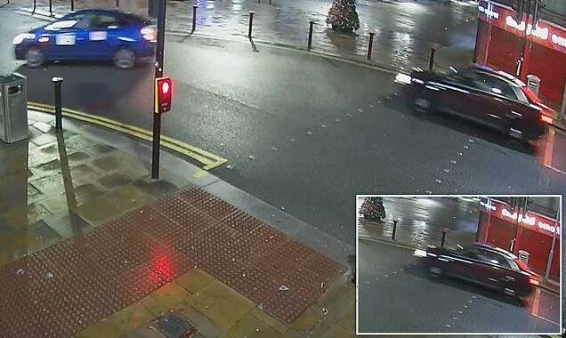 Police hunt hit-and-run Audi driver as girl, 14, lies  in hospital