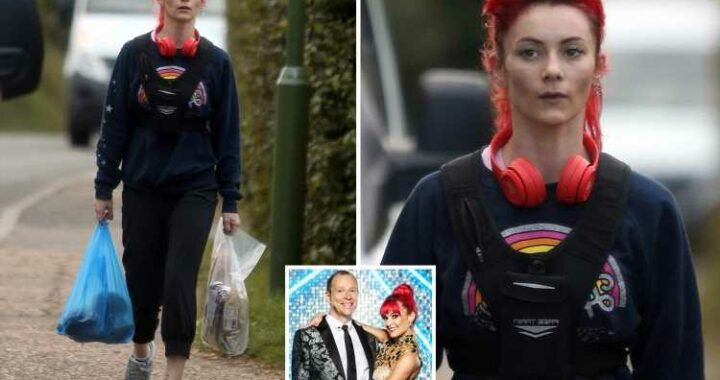 Strictly's Dianne Buswell looks downcast as she's spotted for the first time since Robert Webb quit show