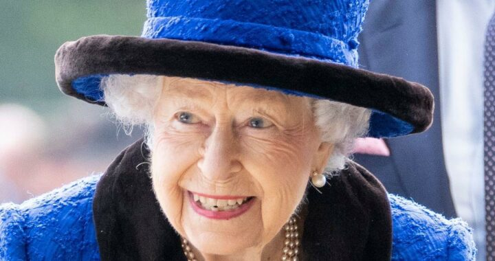 The Queen attends Champions Day at Ascot in a gorgeous blue ensemble without walking stick