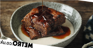 This vegan sticky toffee pudding recipe is a plant-based twist on the classic