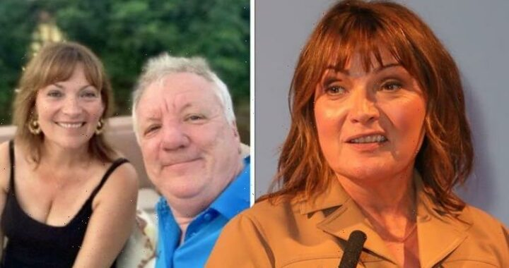 What can I do? Lorraine Kelly says her husband felt helpless after she 'lost herself